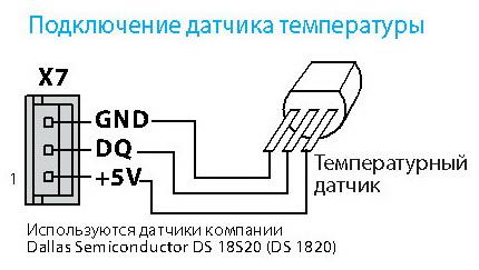 Датчики температуры arduino