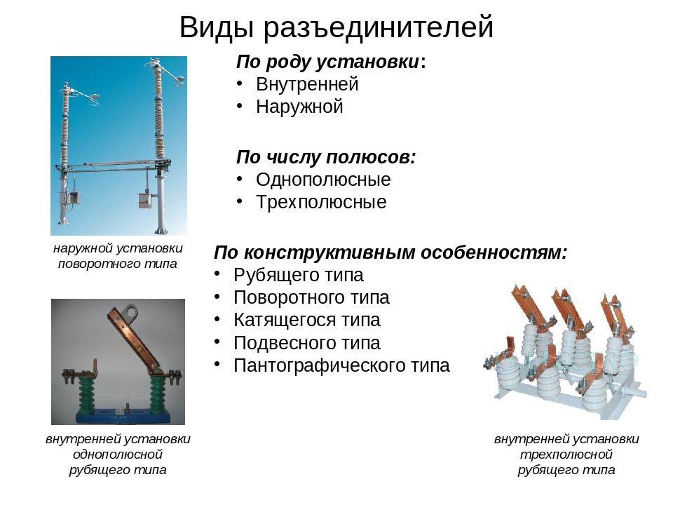 Разъединитель — википедия с видео // wiki 2