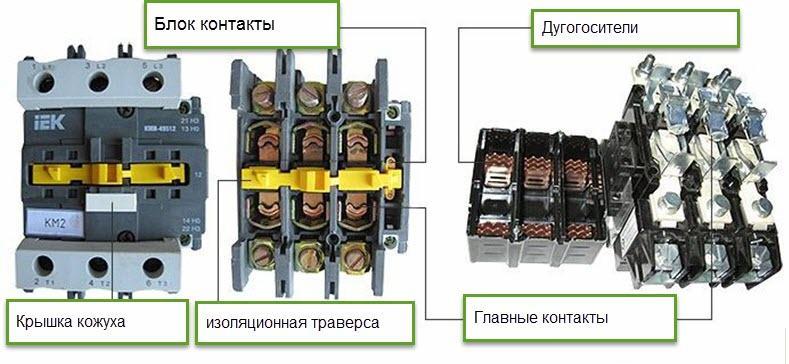 Ремонт магнитного пускателя