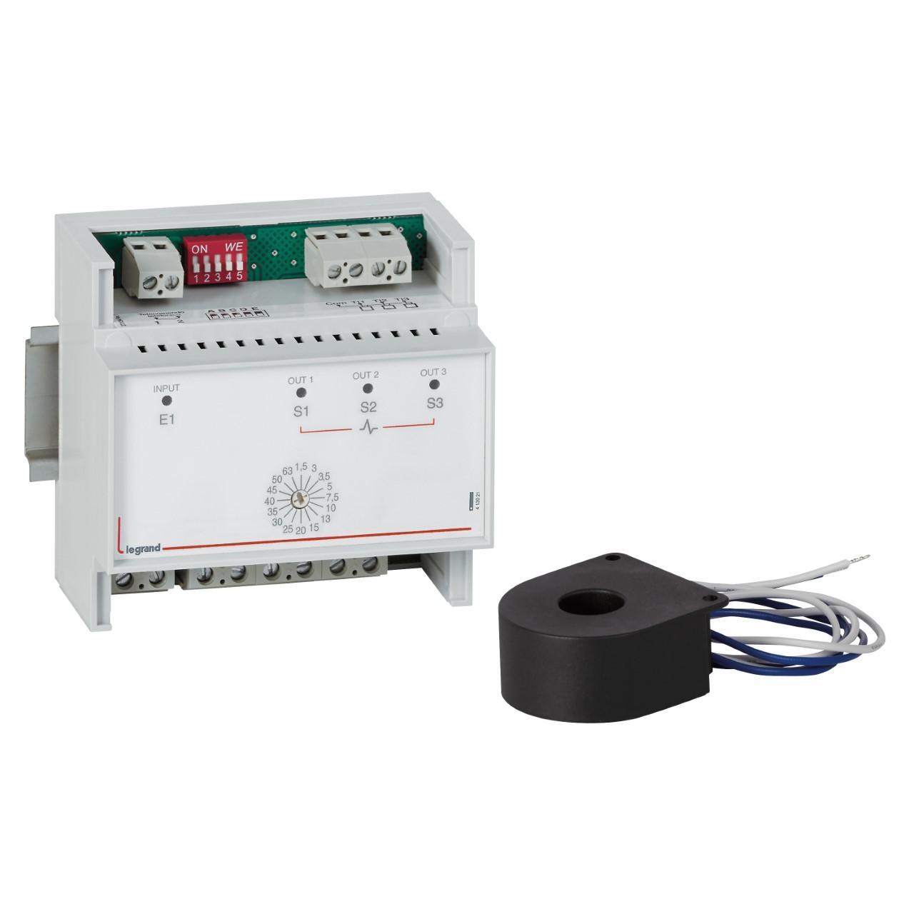 Реле приоритета нагрузки рпн-1 (реле контроля тока), работает без питания