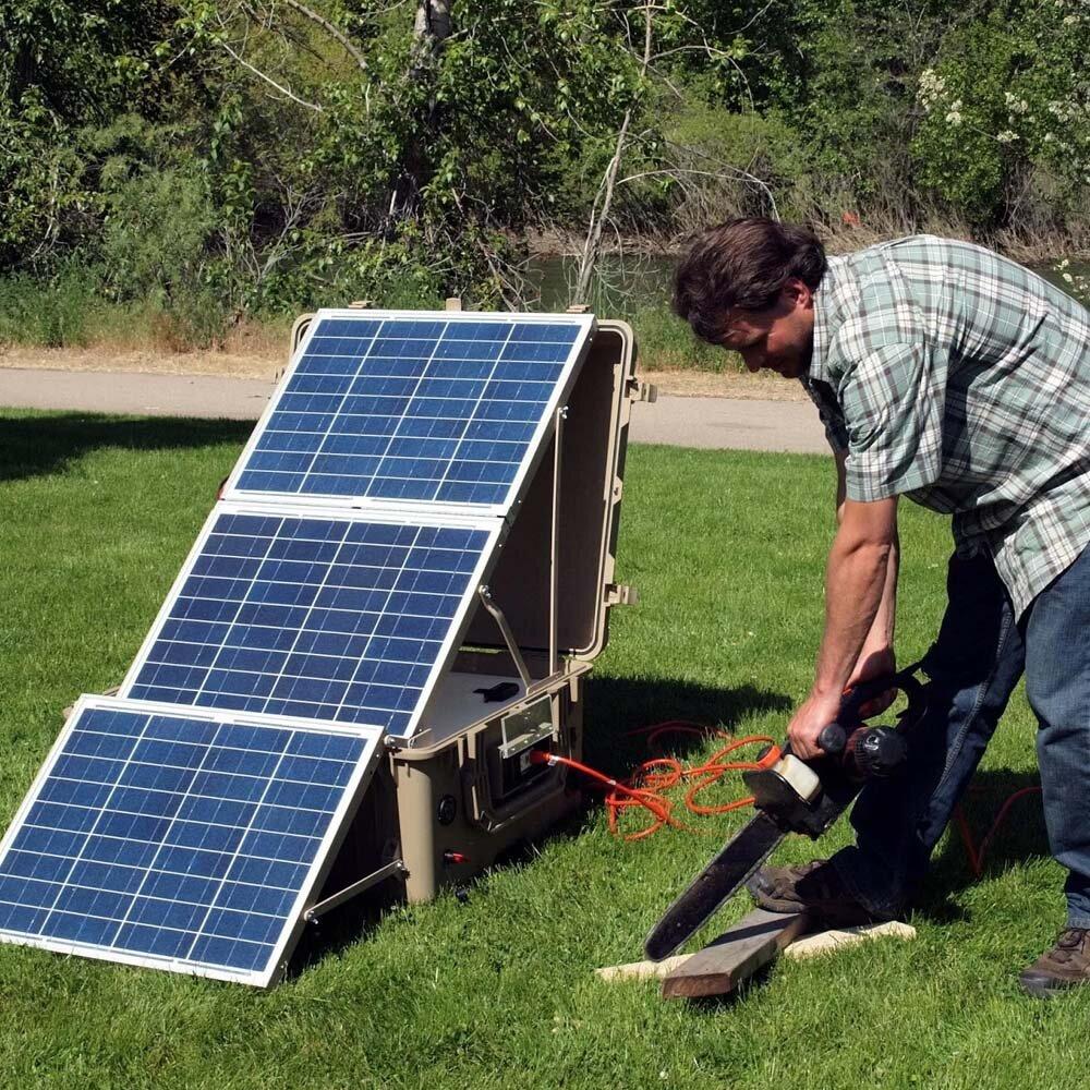 Реальное применение тонкопленочных солнечных батарей