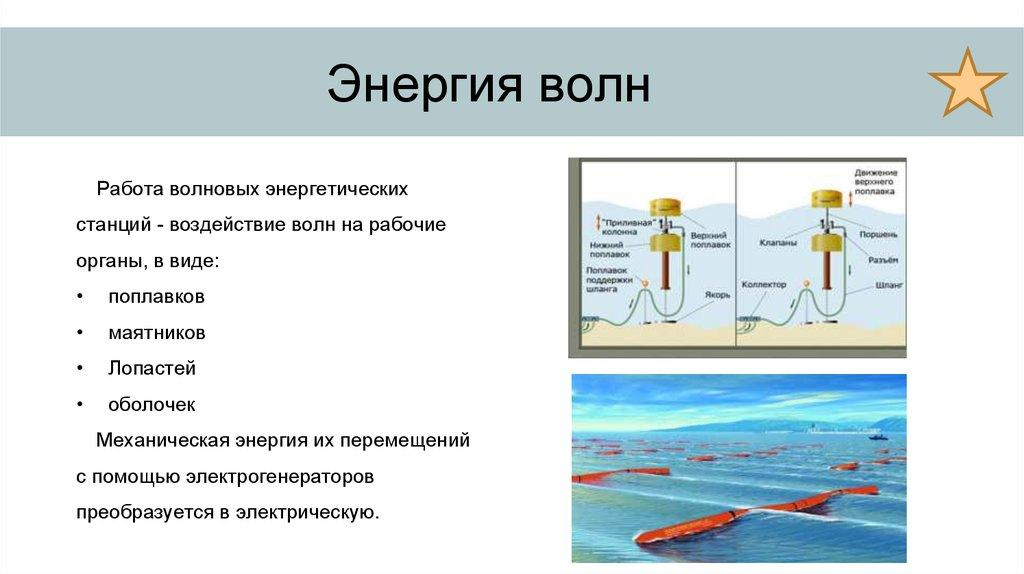 Волновые электростанции - примеры трех проектов. волновая электростанция oceanlinx