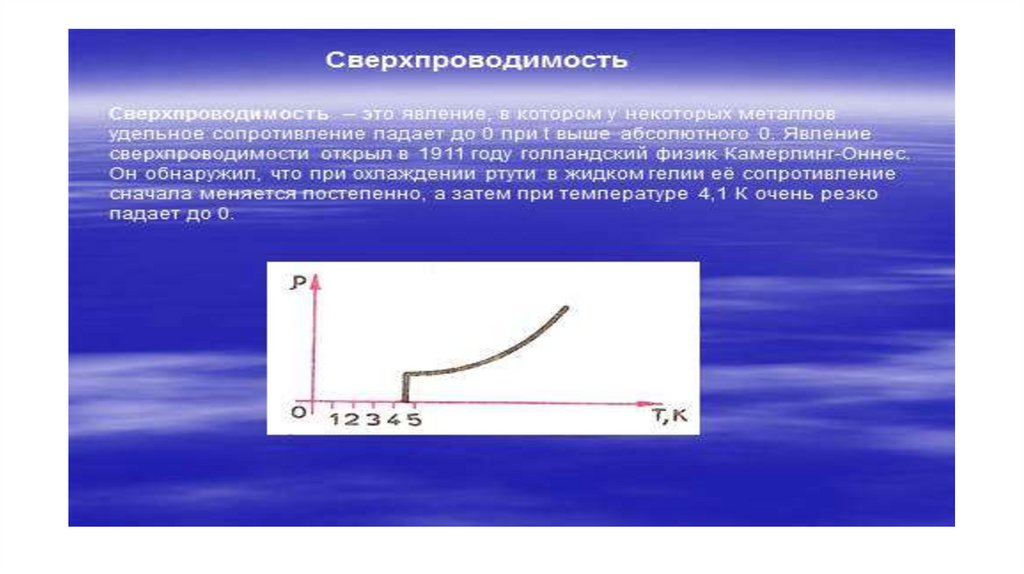 Т. зависимость сопротивления от температуры