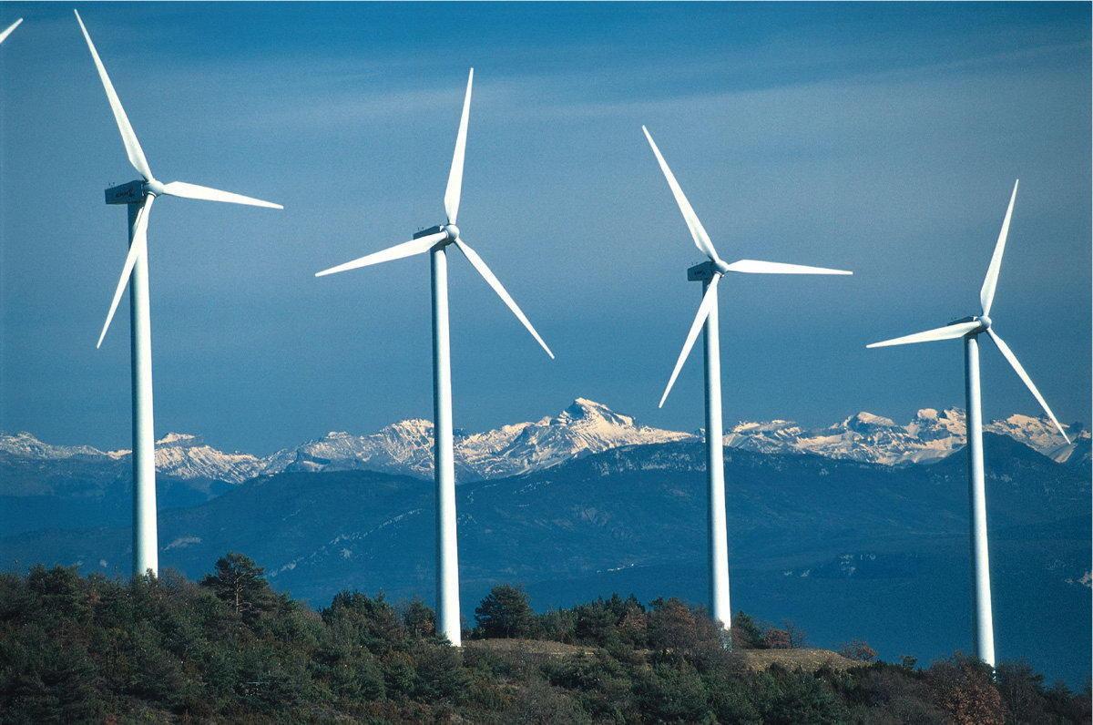 Ветроэнергетика в мире и её развитие