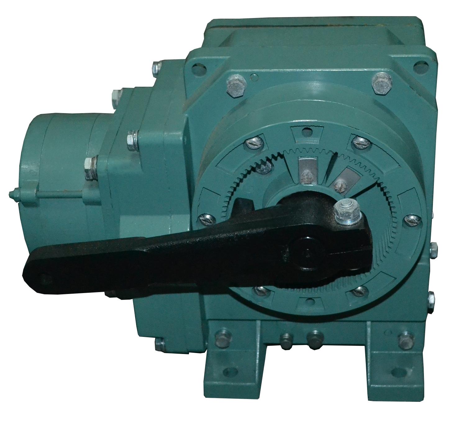 Схемы электрических исполнительных механизмов с электродвигателем