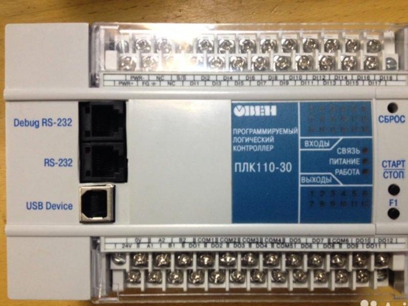 Контроллеры программируемые логические овен плк150, овен плк154