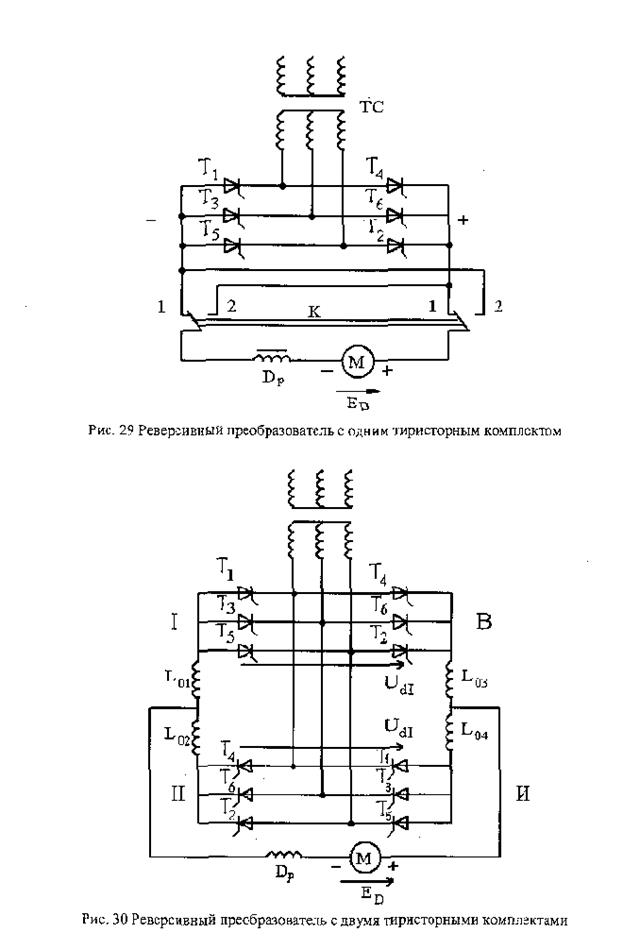 Эксплуатация крановых тиристорных электроприводов - тиристорные системы