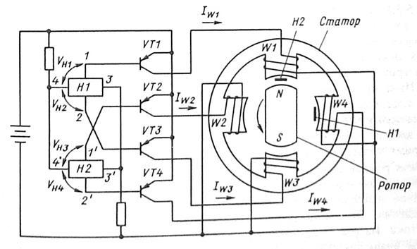 Датчик напряжения вентильного преобразователя постоянного тока