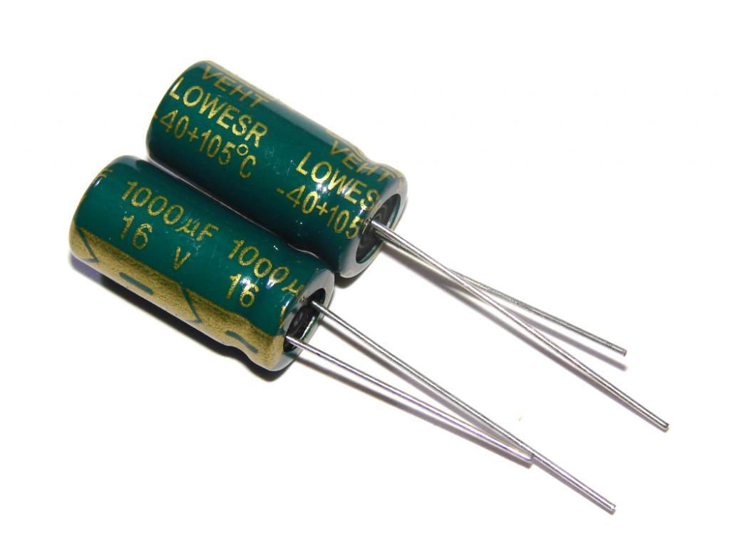 Виды конденсаторов и их применение