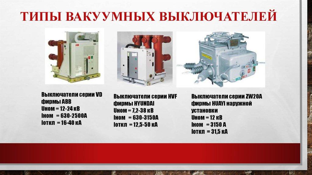 Сравнение элегазового и вакуумного высоковольтного выключателей | высоковольтные выключатели: элегаз против вакуума | подстанции | статьи