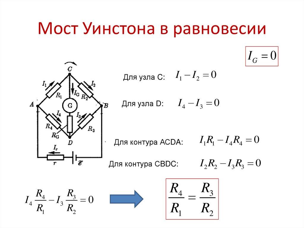 Лабораторная работа «мостовые измерения»