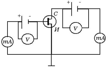 Применение полевых транзисторов