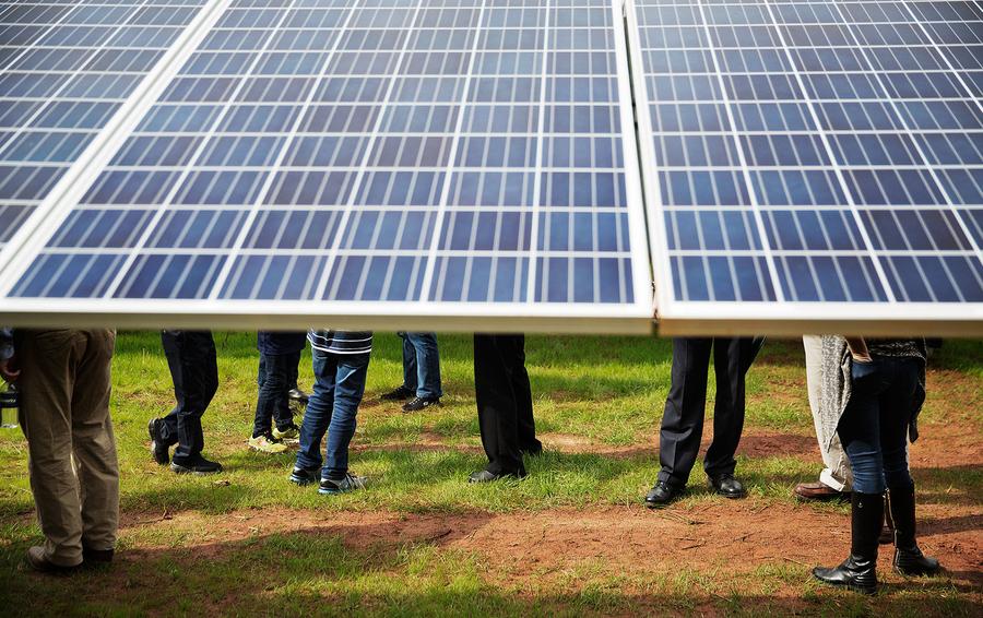 Топ-10 стран по использованию солнечной энергии