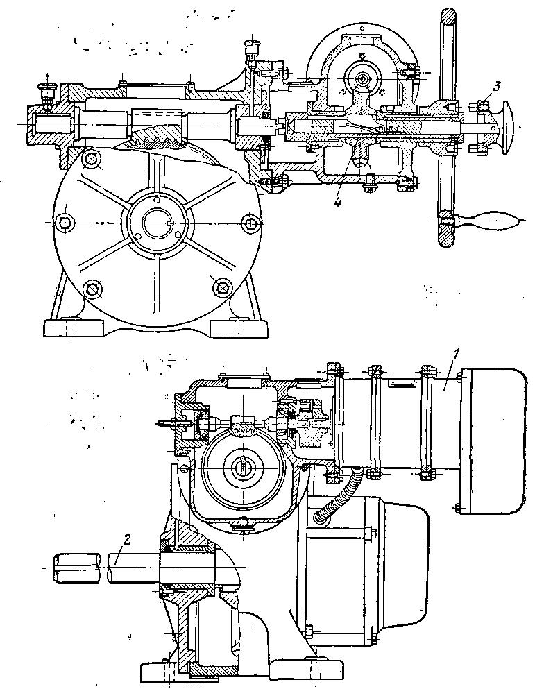 Принципиальная электрическая схема электродвигателя
