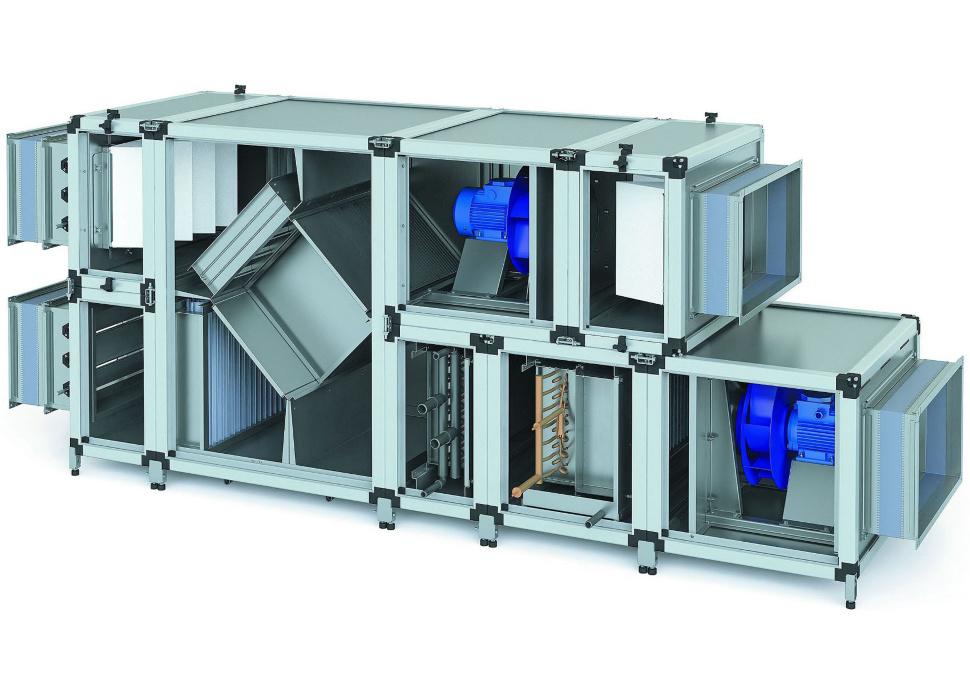 Автоматизация общеобменной вентиляции