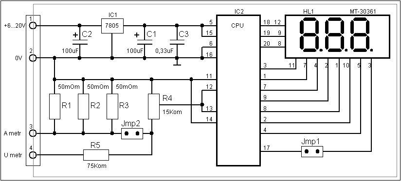 Вольтметры и амперметры