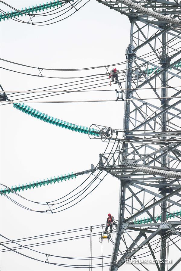 Высоковольтная линия постоянного тока — википедия