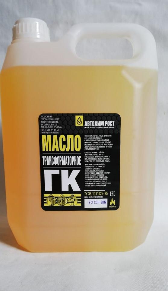 Технические характеристики трансформаторного масла