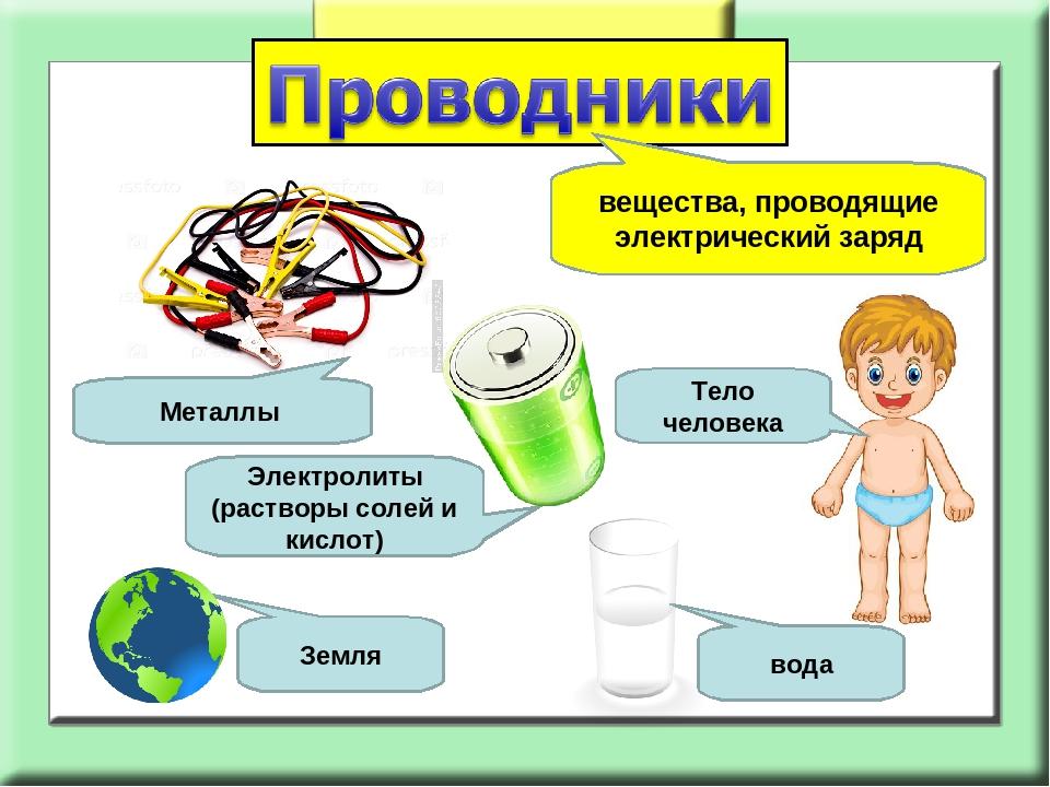 Проводник и непроводник электричества