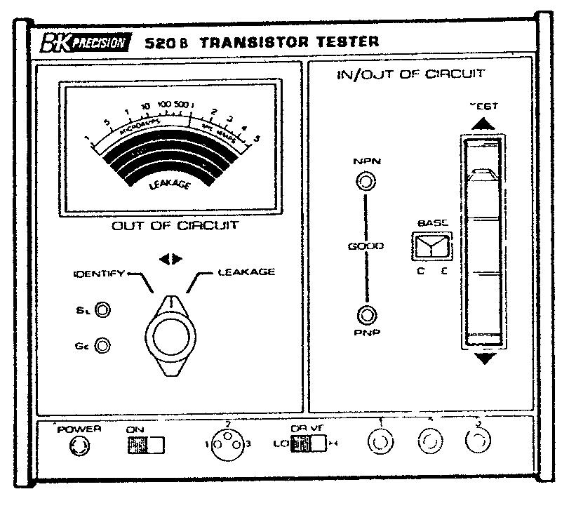Транзистор - принцип работы.основные параметры.