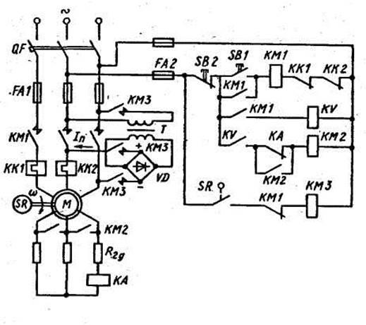 Автоматическое управление электроприводом