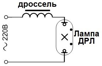 Особенности лампы длр