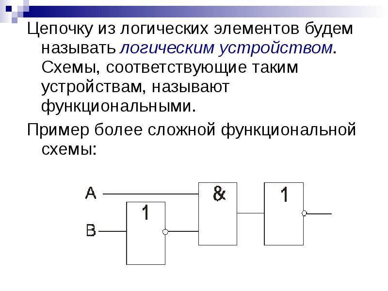 Глава 5 — логические основы компьютеров