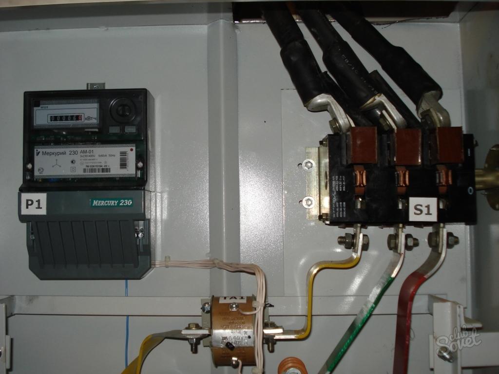 Подключаем электросчетчики через трансформаторы тока