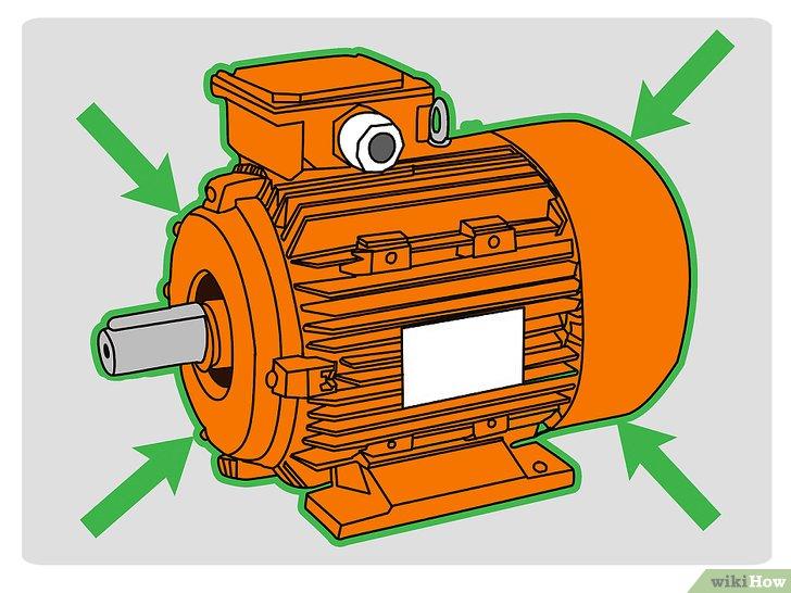 Основные повреждения электродвигателей