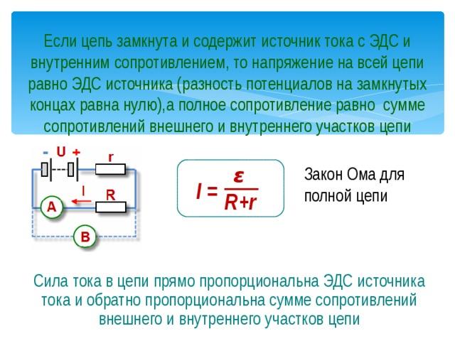 Электрические цепи, элементы электрических цепей. условные обозначения элементов электрической цепи