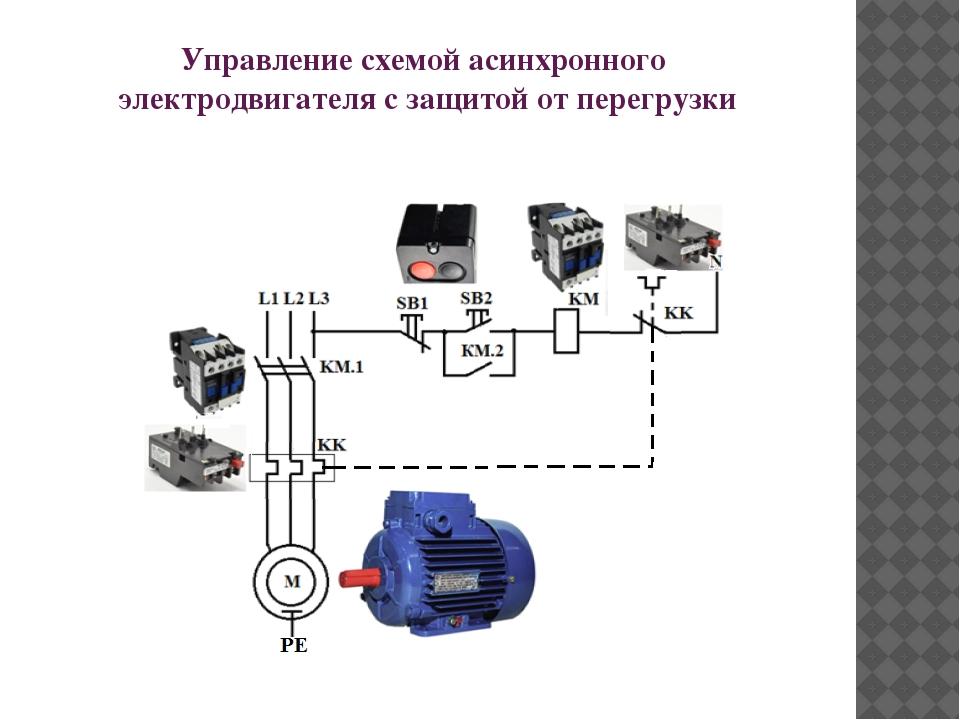 Виды защит электродвигателя