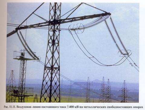 В чем преимущества и недостатки высоковольтных лэп постоянного тока