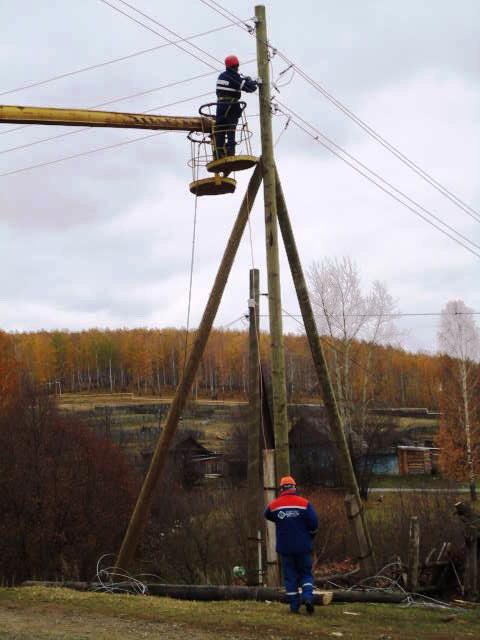 Ремонт воздушных линий электропередач напряжением выше 1000 в
