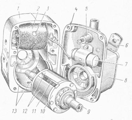 Регулировка и ремонт тракторного магнето