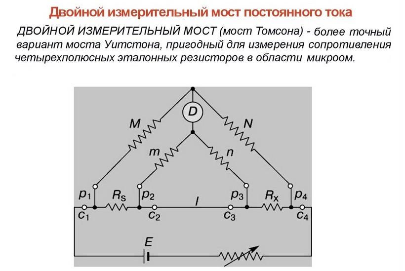 Учебное пособие: рекомендации по работе с потенциометром мостовые методы измерения сопротивлений - bestreferat.ru