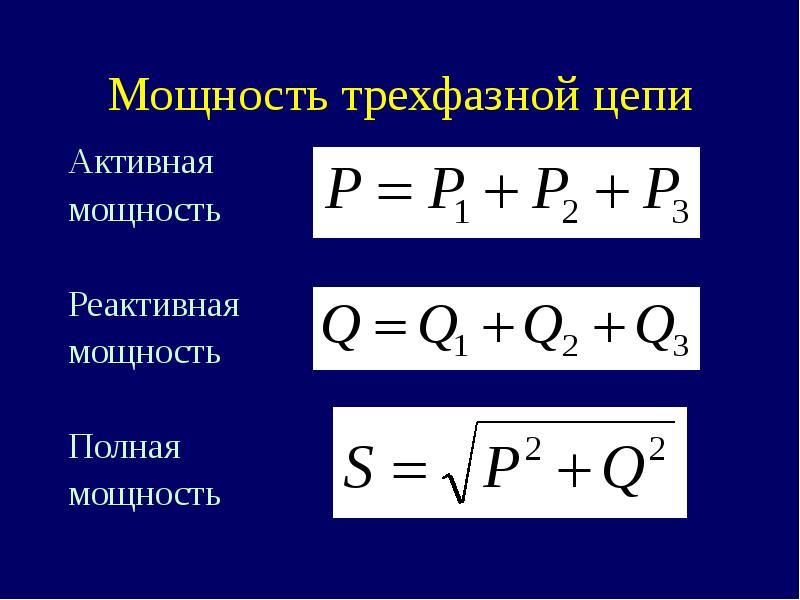 Что такое активная, реактивная и полная мощность — простое объяснение