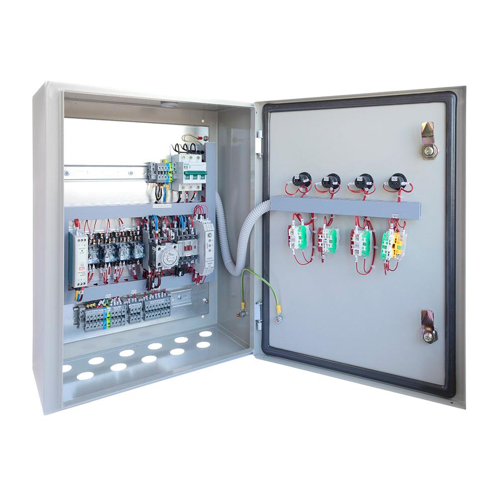 Бесконтактная система управления электроприводом
